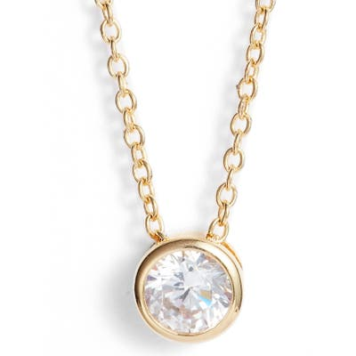 Nordstrom 0.5 Ct Tw Cubic Zirconia Pendant Necklace