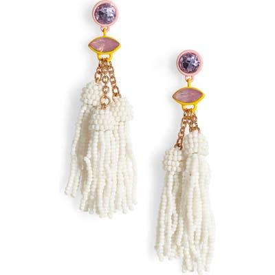 Bp. Beaded Tassel Earrings