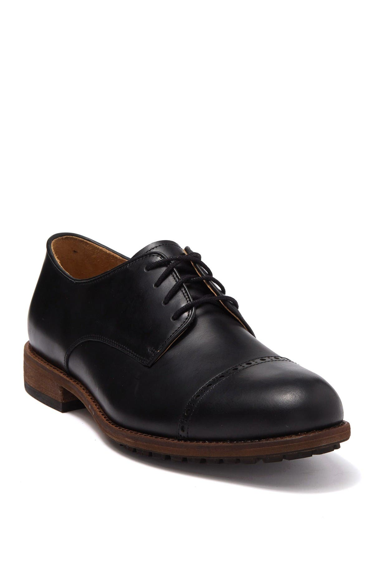 Image of Warfield & Grand Clark Cap Toe Leather Derby