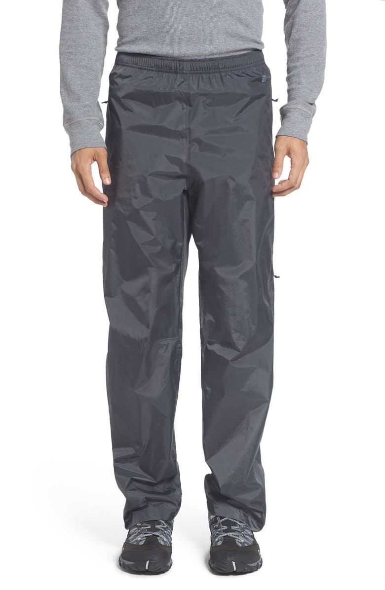 PATAGONIA Torrentshell Packable Waterproof Recycled Nylon Rain Pants, Main, color, FORGE GREY