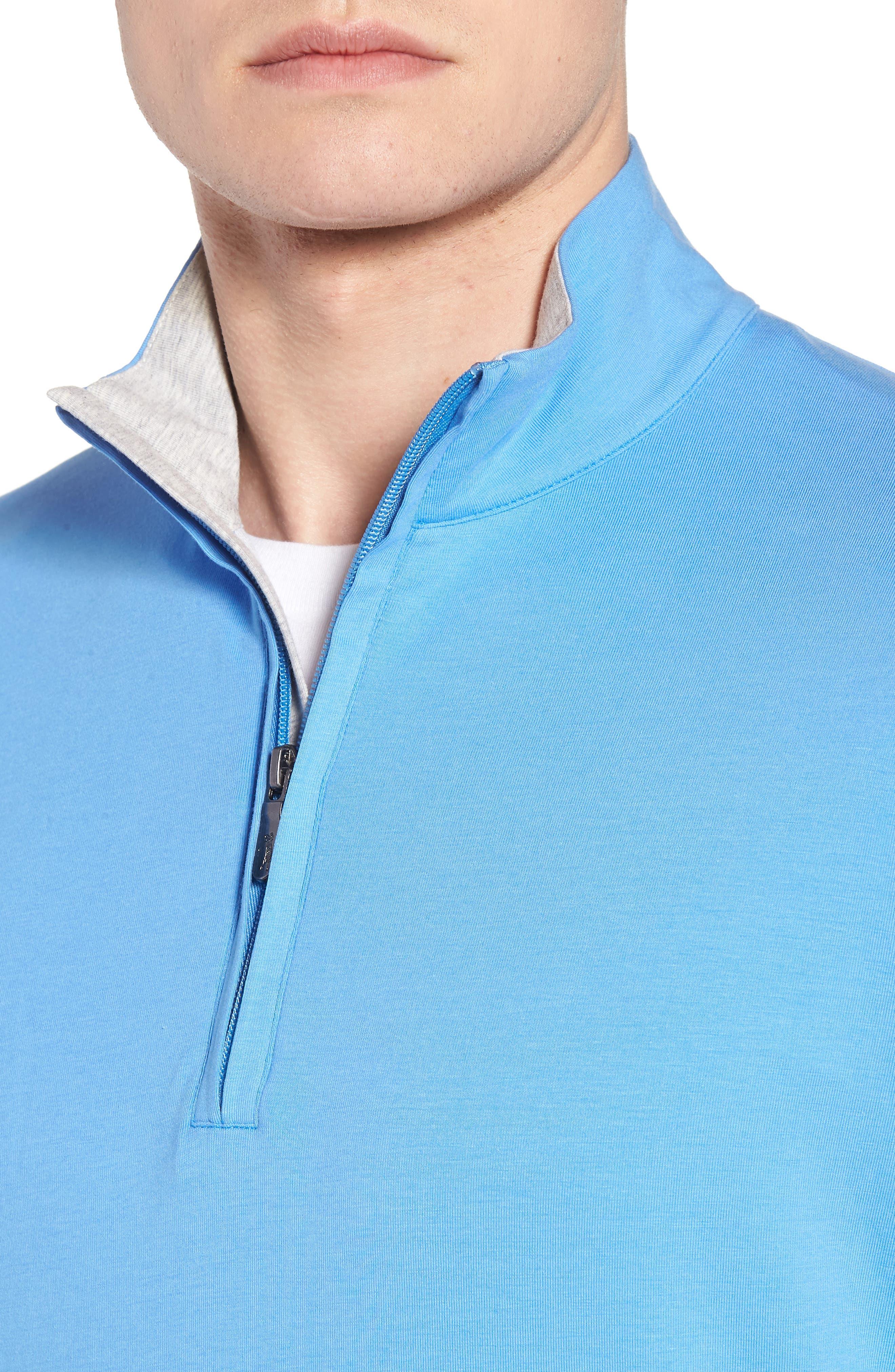 ,                             PTO Liquid Stretch Quarter Zip Pullover,                             Alternate thumbnail 16, color,                             434