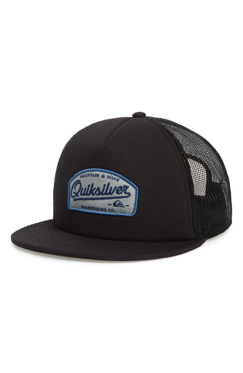low priced b2095 e043b Past Checker Trucker Hat, Main, color, 002