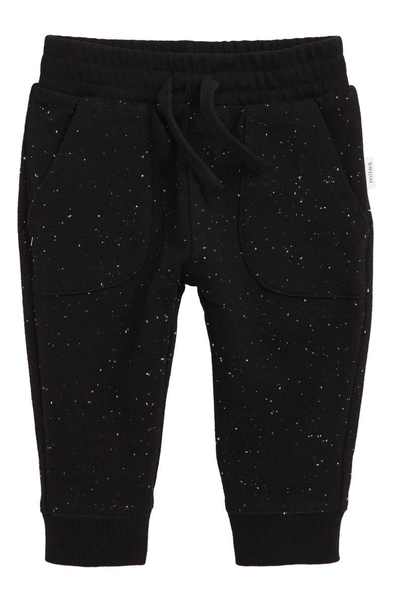 MILES baby Knit Pants, Main, color, BLACK