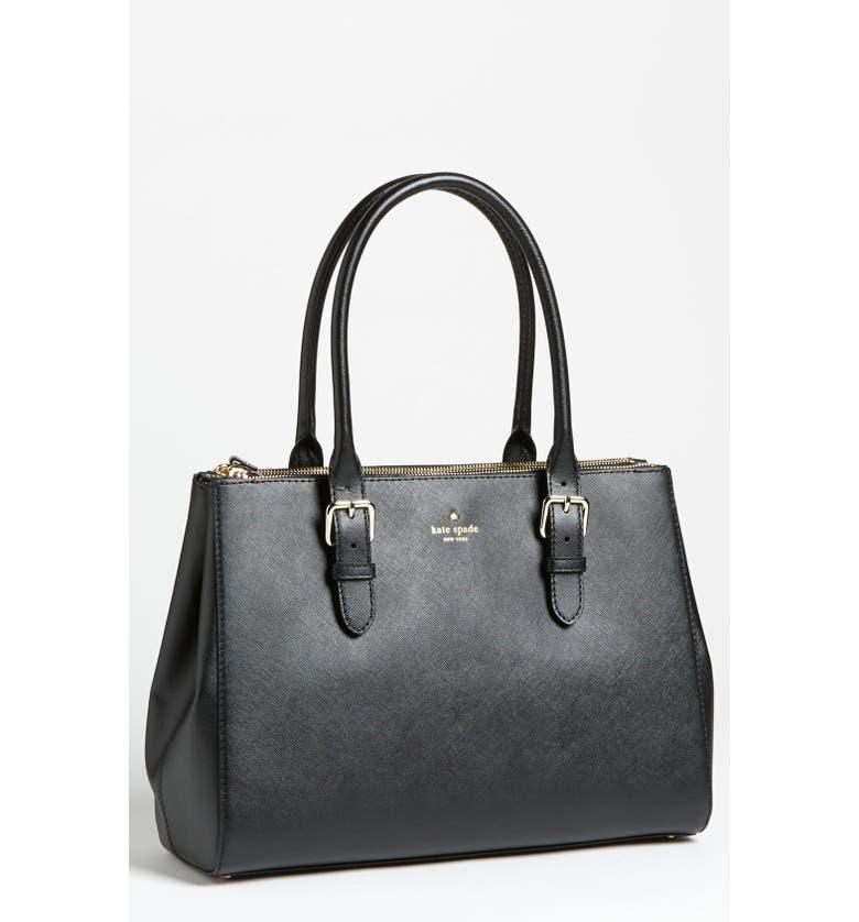KATE SPADE NEW YORK 'charlotte street - reena' shoulder bag, Main, color, 001