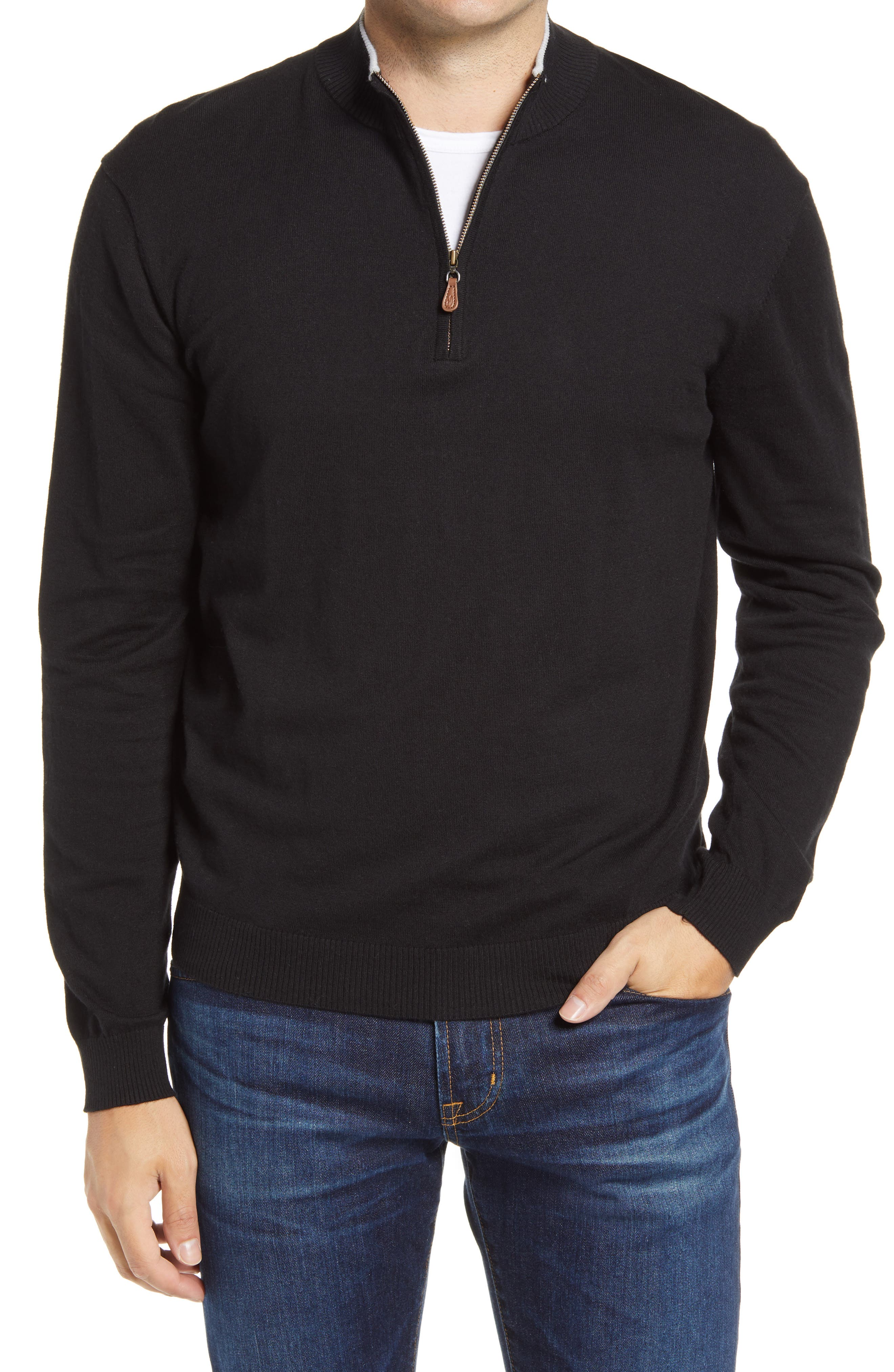 Bailey Quarter Zip Sweater