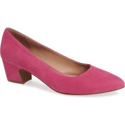 Linea Paolo Bardot Pump- Pink
