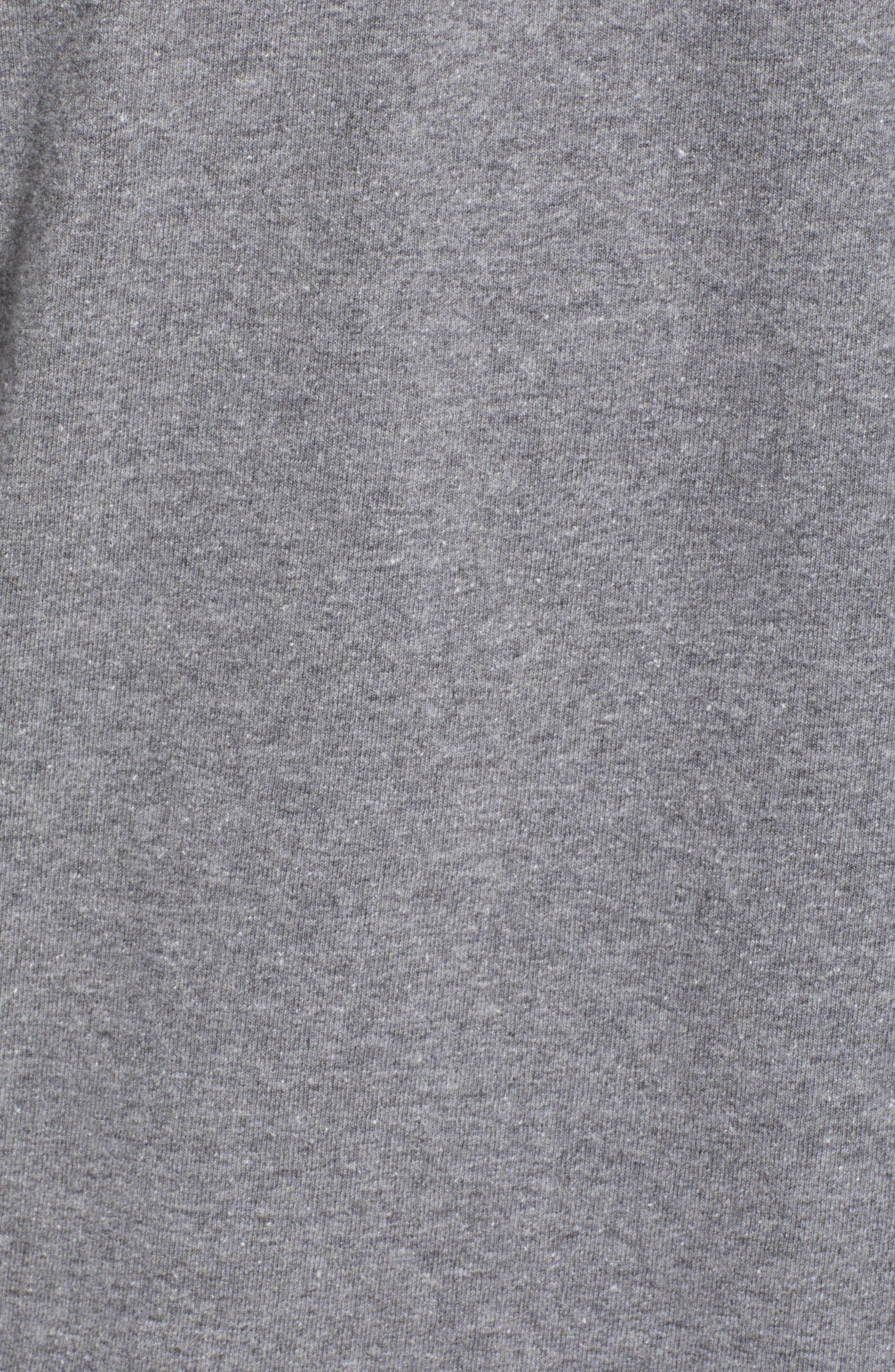 ,                             Fitz Roy Bison Responsibili-Tee T-Shirt,                             Alternate thumbnail 5, color,                             GRAVEL HEATHER
