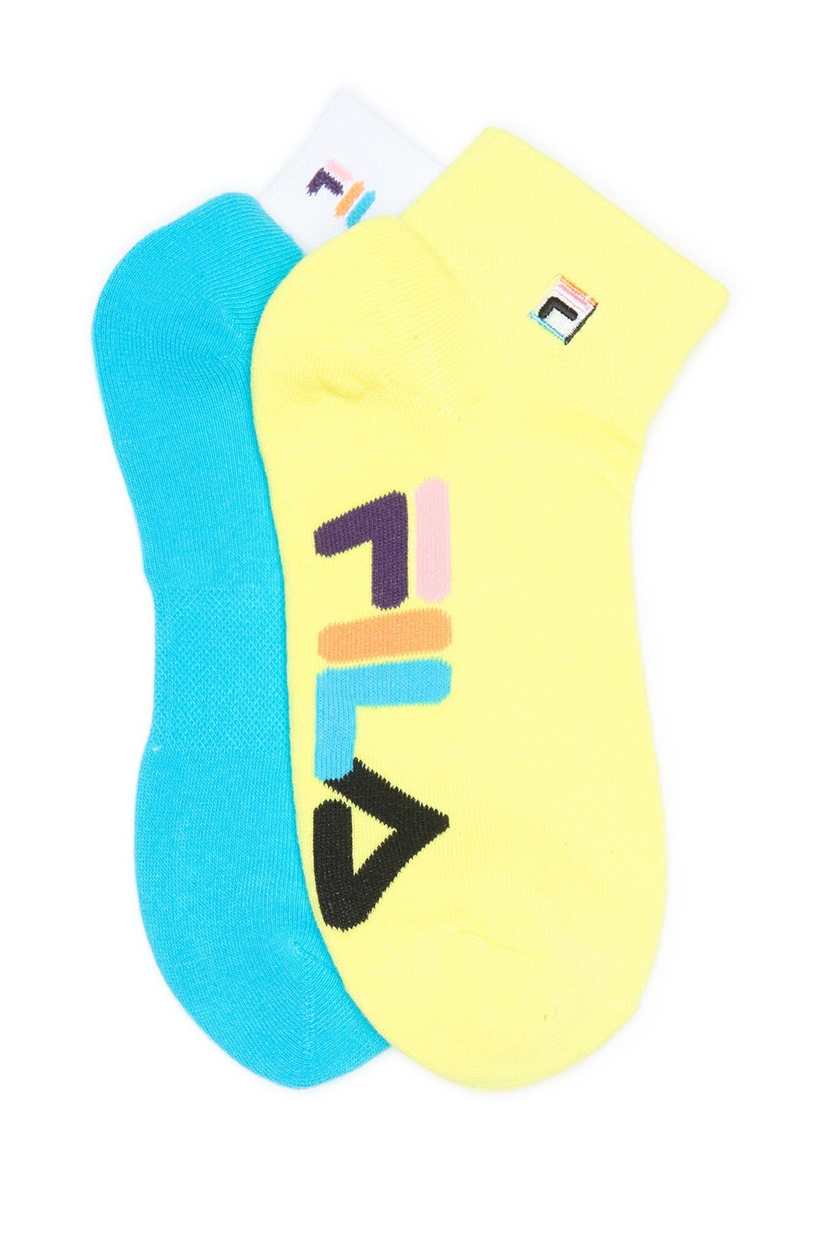 Image of FILA USA Explore Quarter Socks - Pack of 2