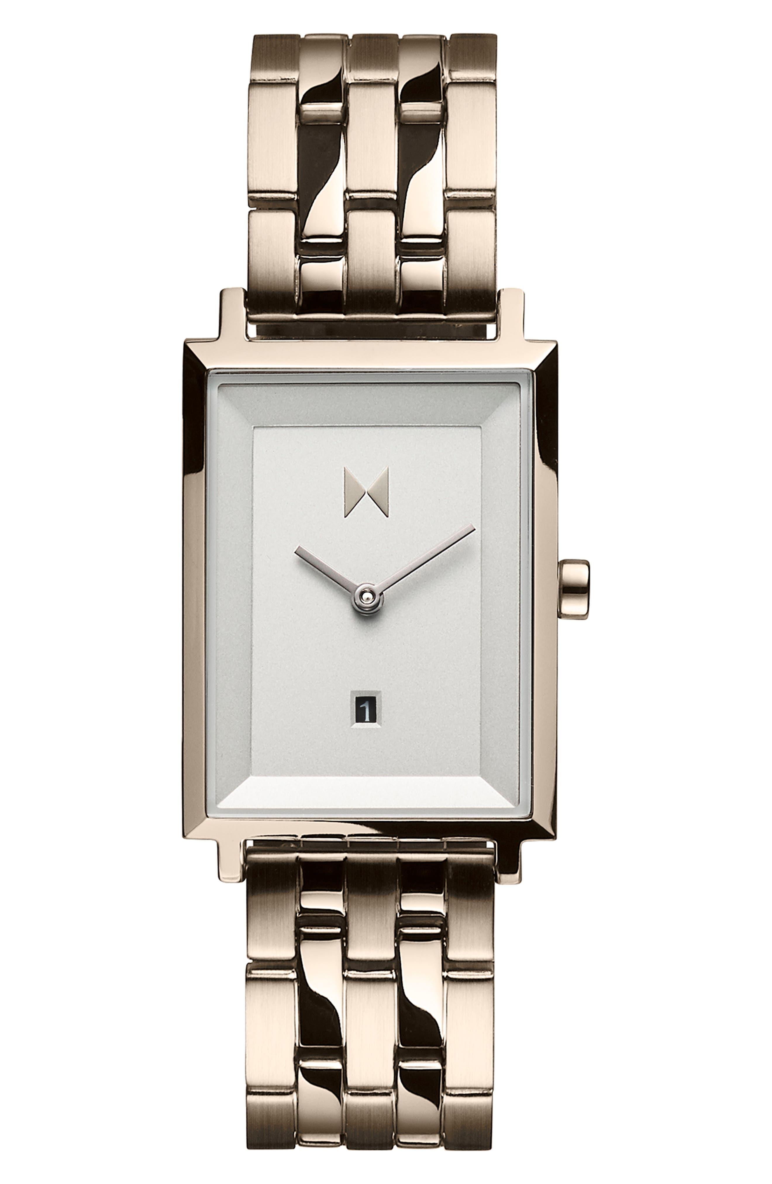 Signature Square Bracelet Watch