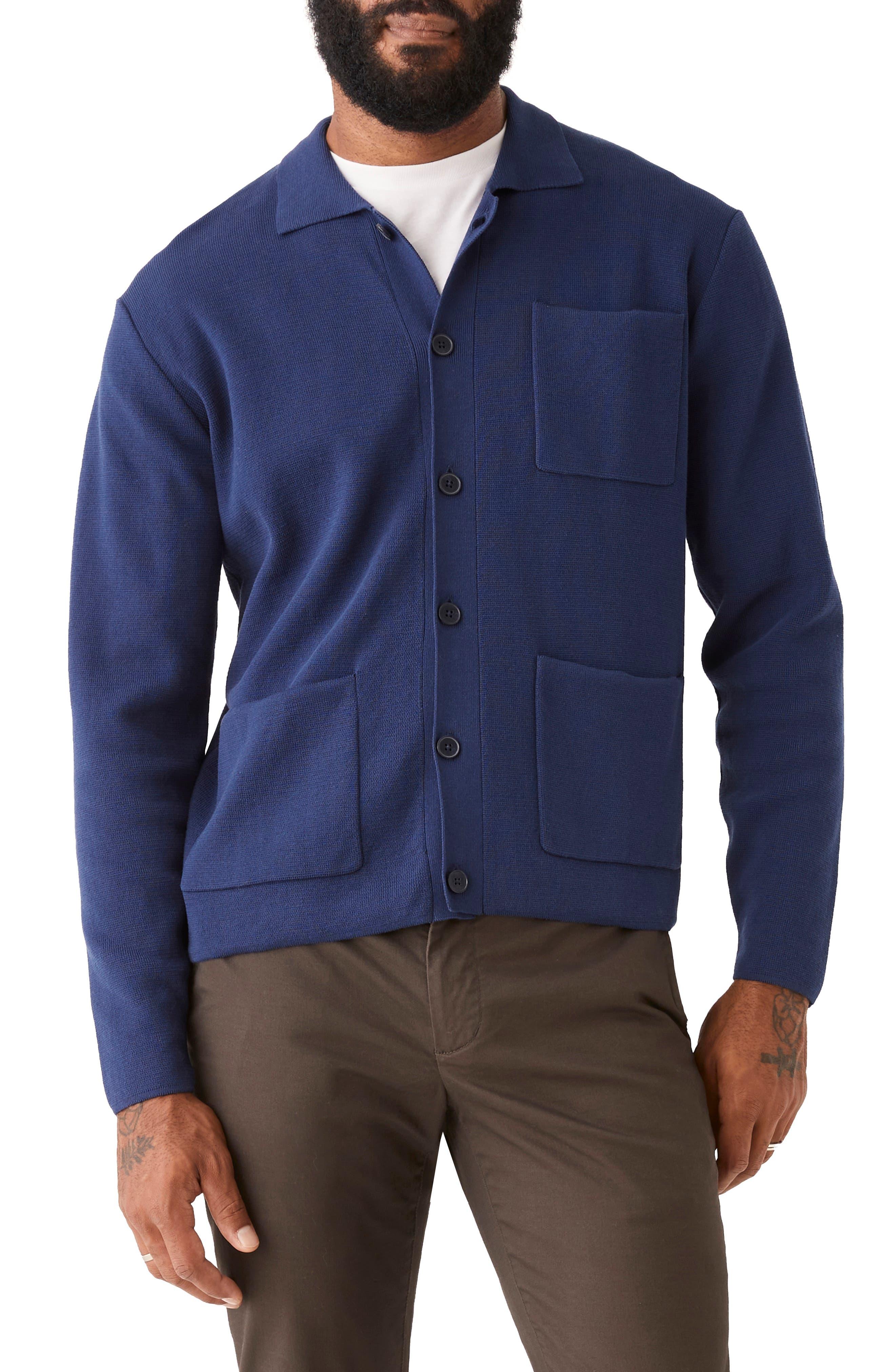 Mercerized Cotton Chore Jacket