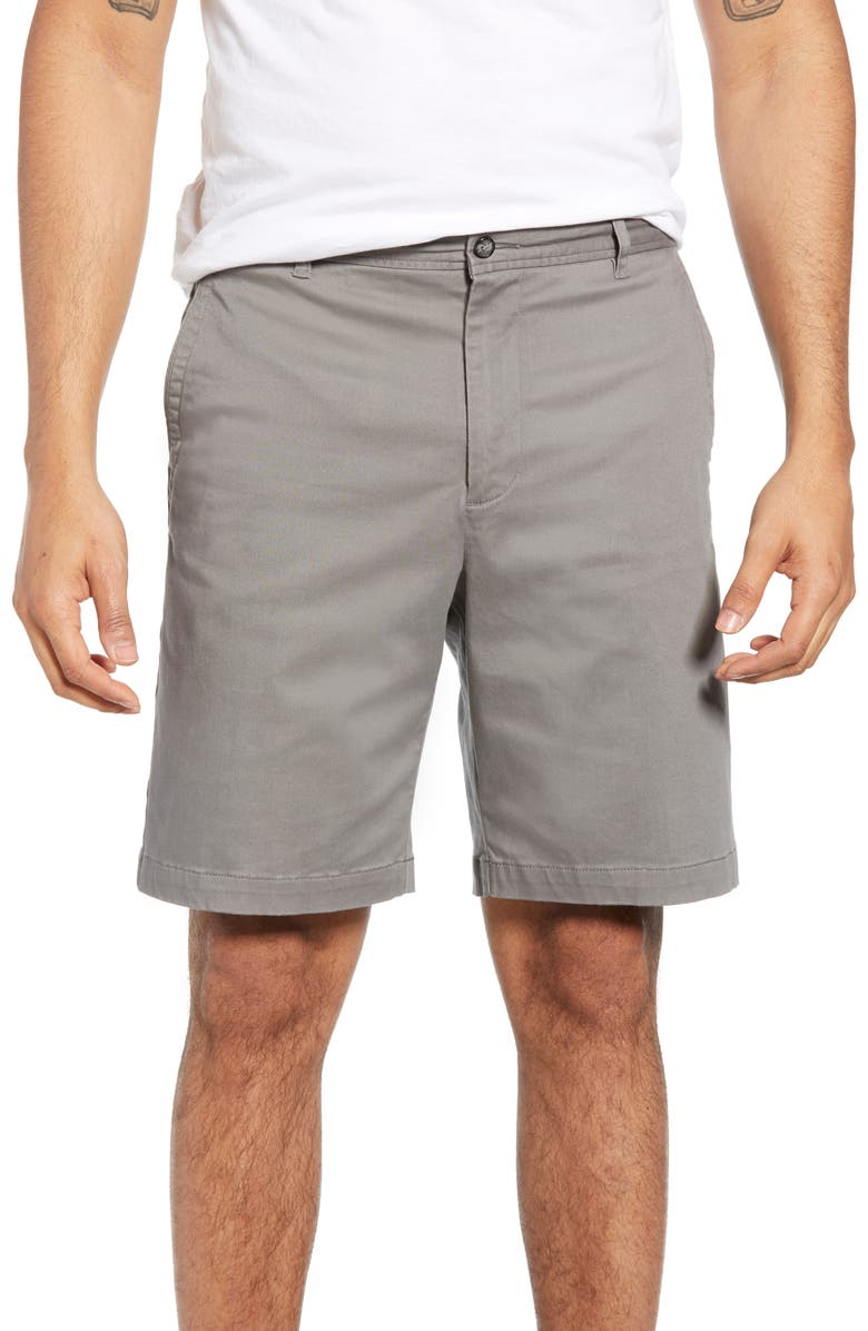 BOBBY JONES St. Charles Stretch Twill Shorts, Main, color, 010