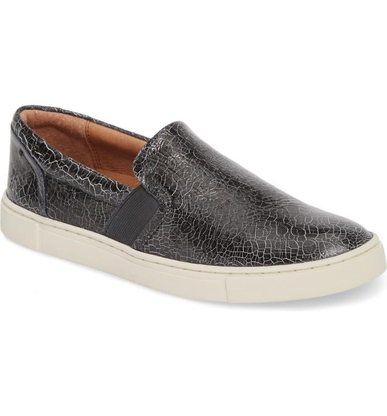 FRYE Ivy Slip-On Sneaker, Main, color, 001