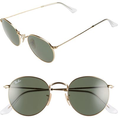 Ray-Ban 50mm Round Sunglasses -