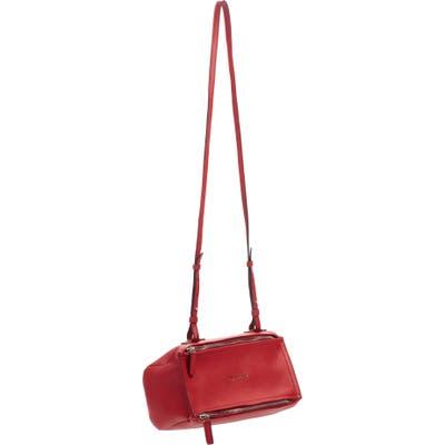 Givenchy Mini Pandora Sugar Leather Shoulder Bag -