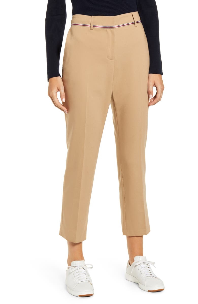 TOMMY HILFIGER Standford Ankle Pants, Main, color, 253