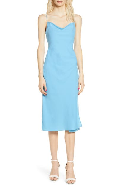 Finders Keepers CALYPSO COWL NECK SLIPDRESS