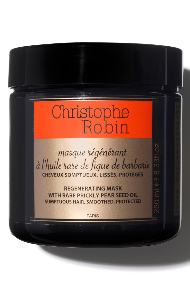 CHRISTOPHE ROBIN Regenerating Mask with Rare Prickly Pear Seed Oil, Main, color, NO COLOR
