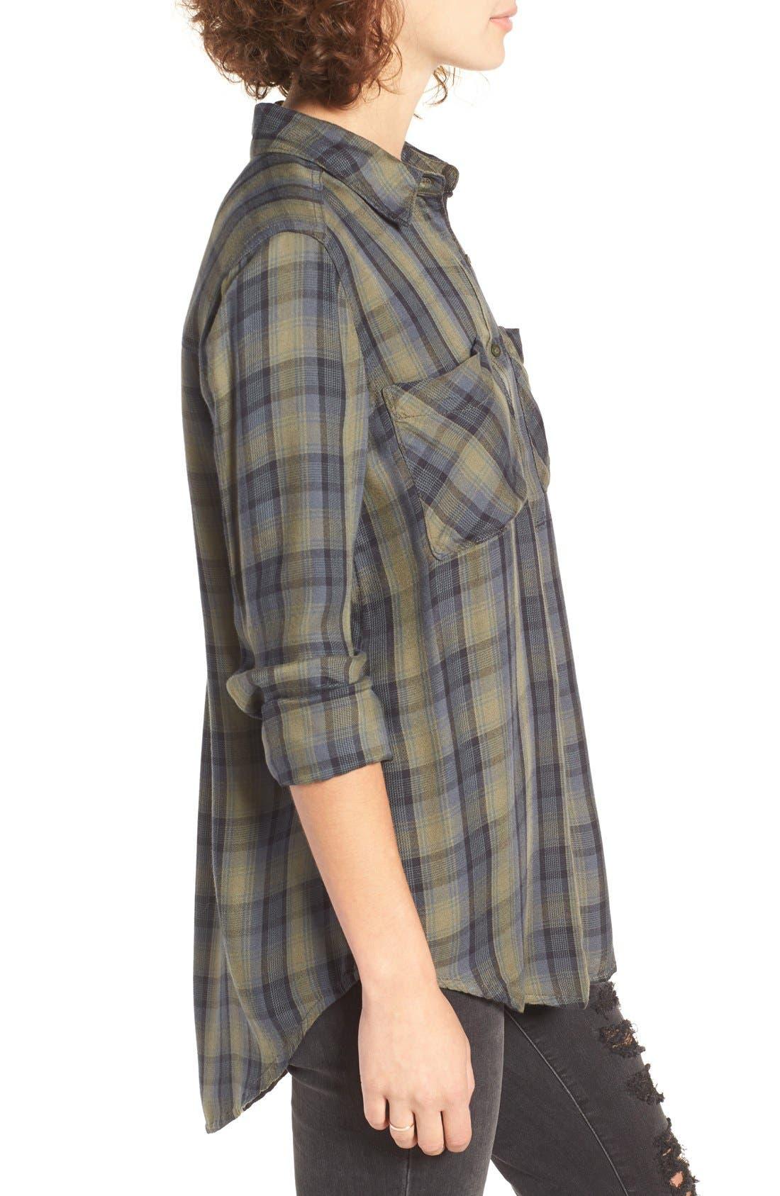 ,                             Plaid Tunic Shirt,                             Alternate thumbnail 23, color,                             311