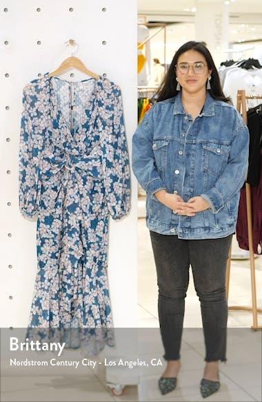 Floral Long Sleeve Dress, sales video thumbnail