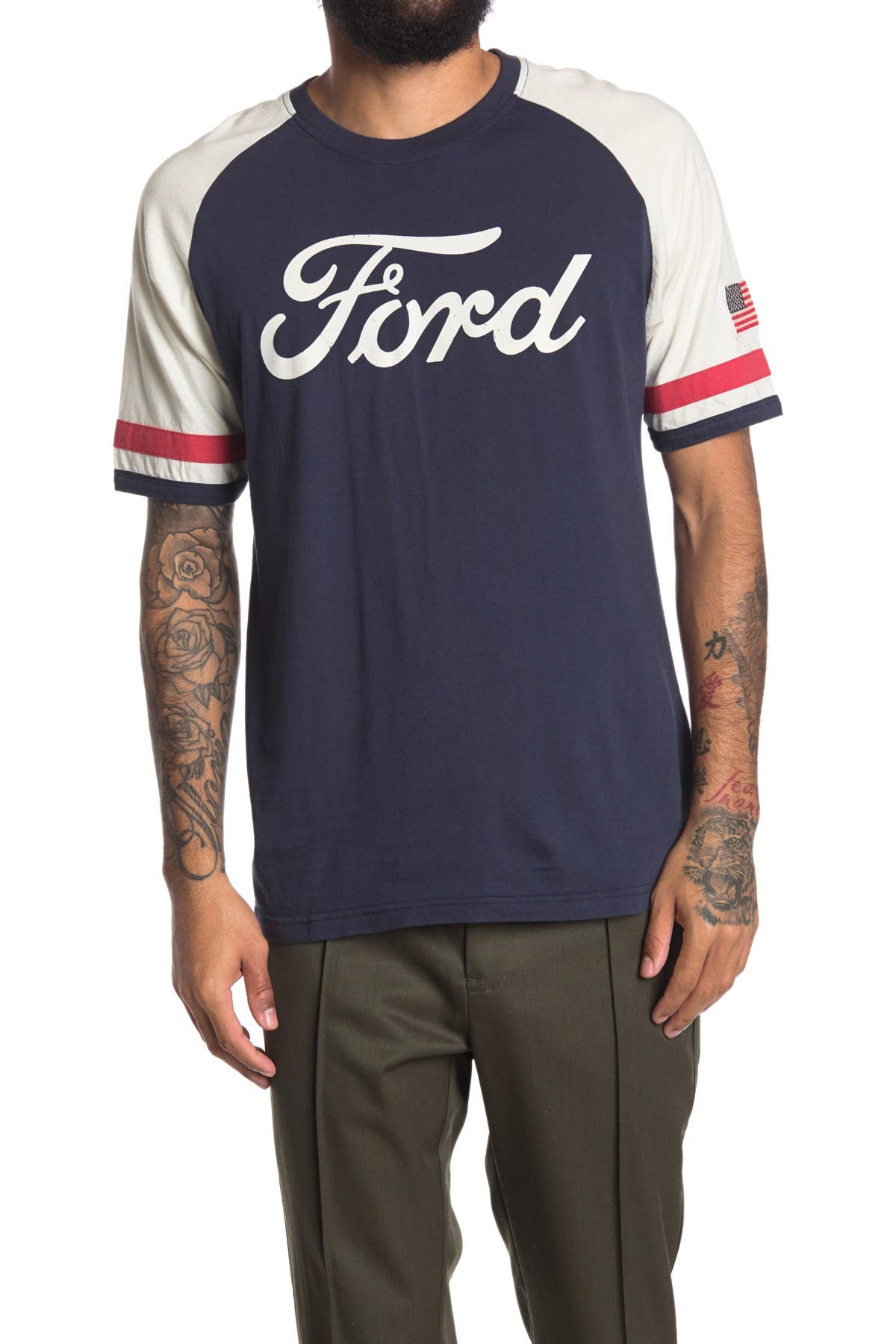 Image of American Needle Remote Control Ford T-Shirt
