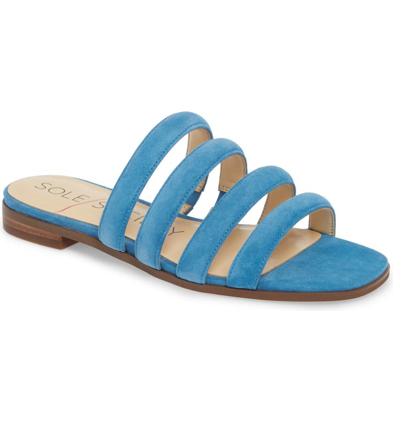 SOLE SOCIETY Saxten Strappy Slide Sandal, Main, color, 401