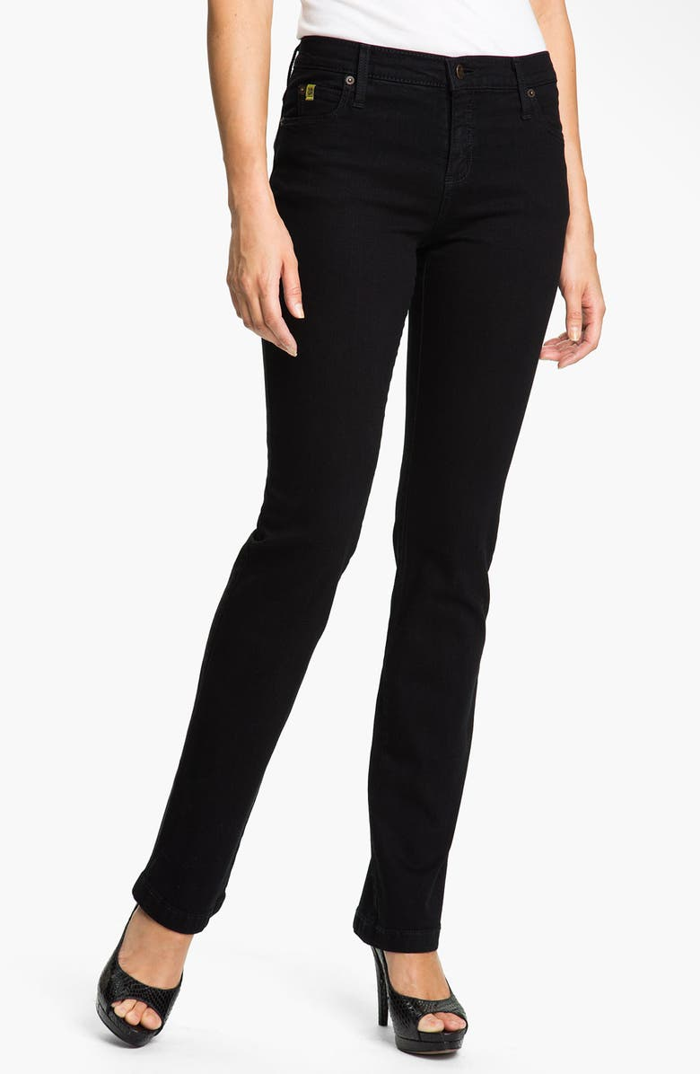 YOGA JEANS BY SECOND DENIM Straight Leg Jeans, Main, color, 001