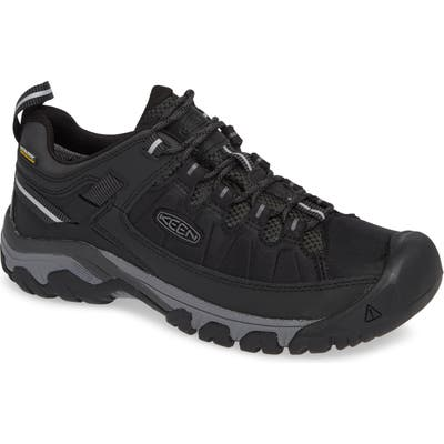 Keen Targhee Exp Waterproof Hiking Shoe- Black
