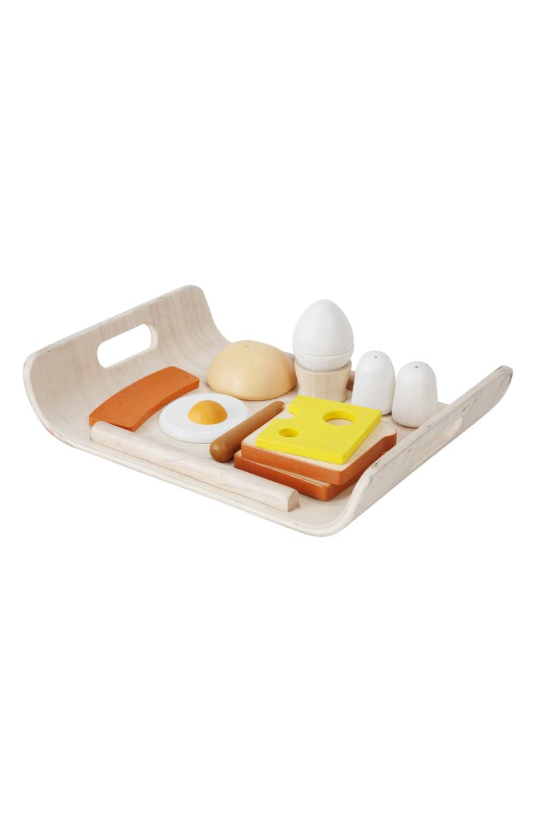 PLANTOYS<SUP>®</SUP> Plan Toys Breakfast Play Set, Main, color, 800