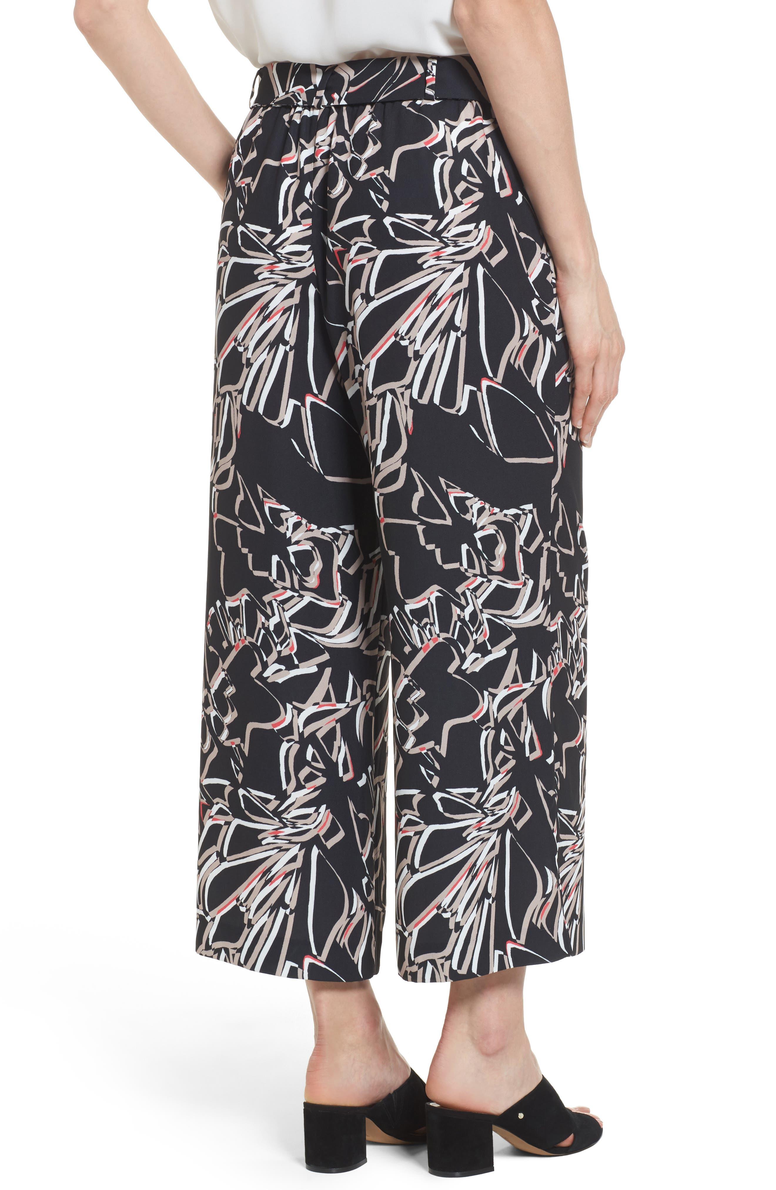 ,                             Wide Leg Crop Pants,                             Alternate thumbnail 2, color,                             002