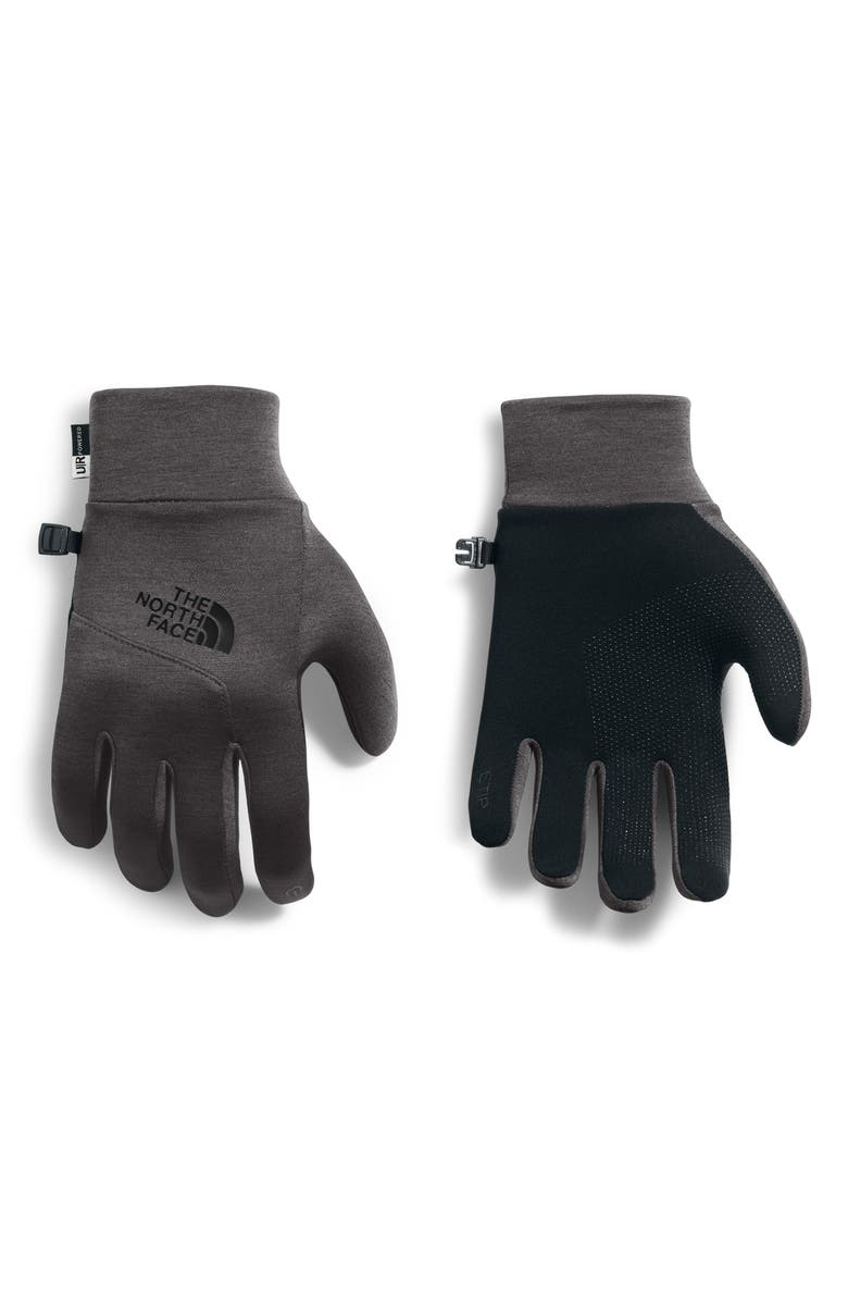 THE NORTH FACE Etip Gloves, Main, color, TNF DARK GREY HEATHER