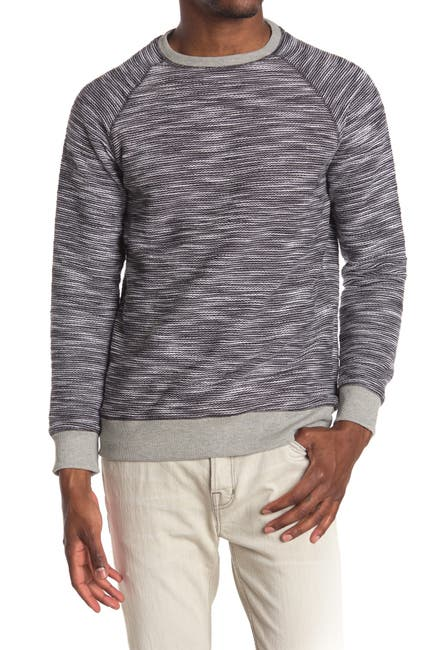 Image of PX Space Dye Heavy Knit Raglan Pullover