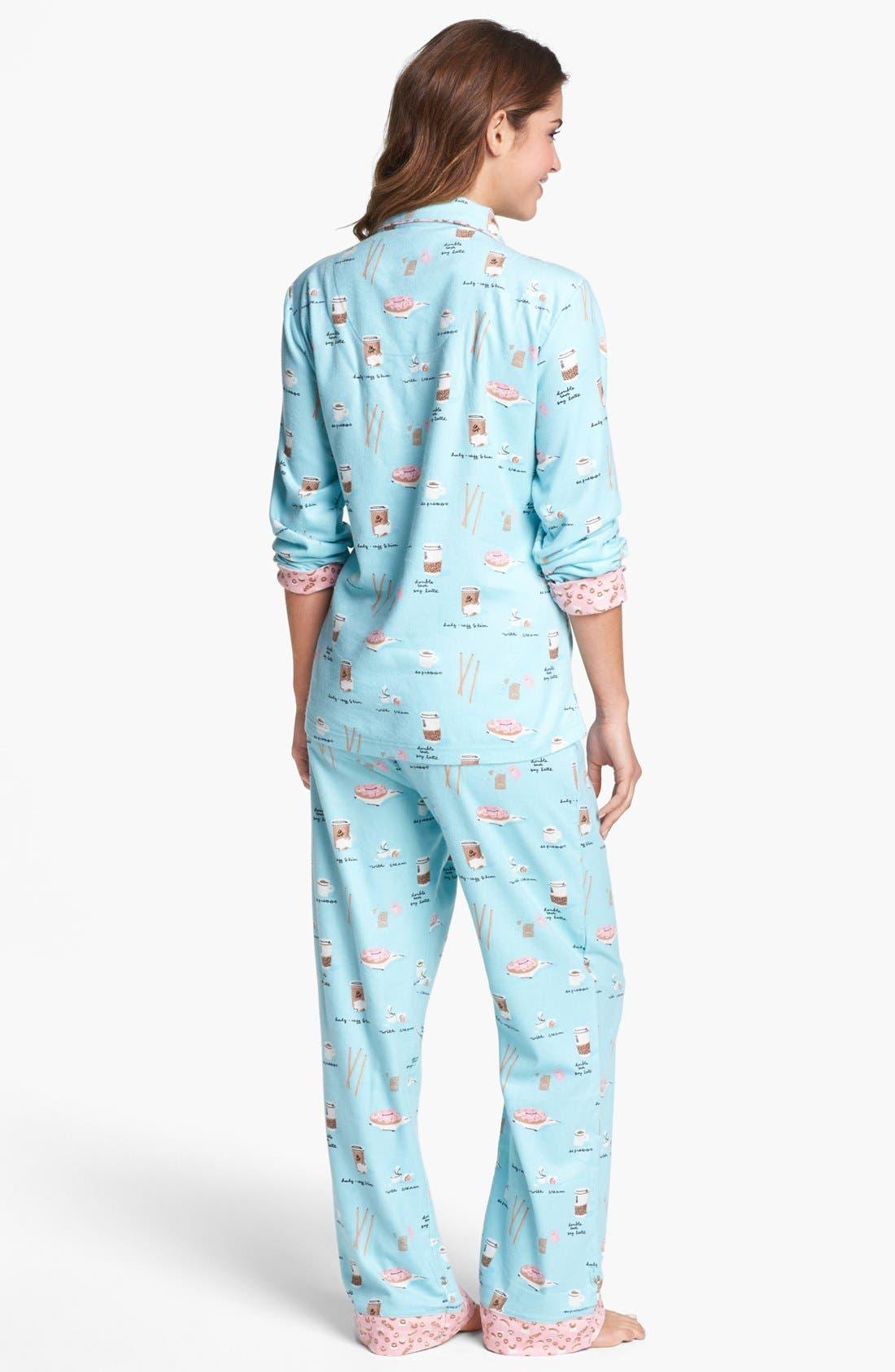 ,                             Flannel Pajamas,                             Alternate thumbnail 49, color,                             452