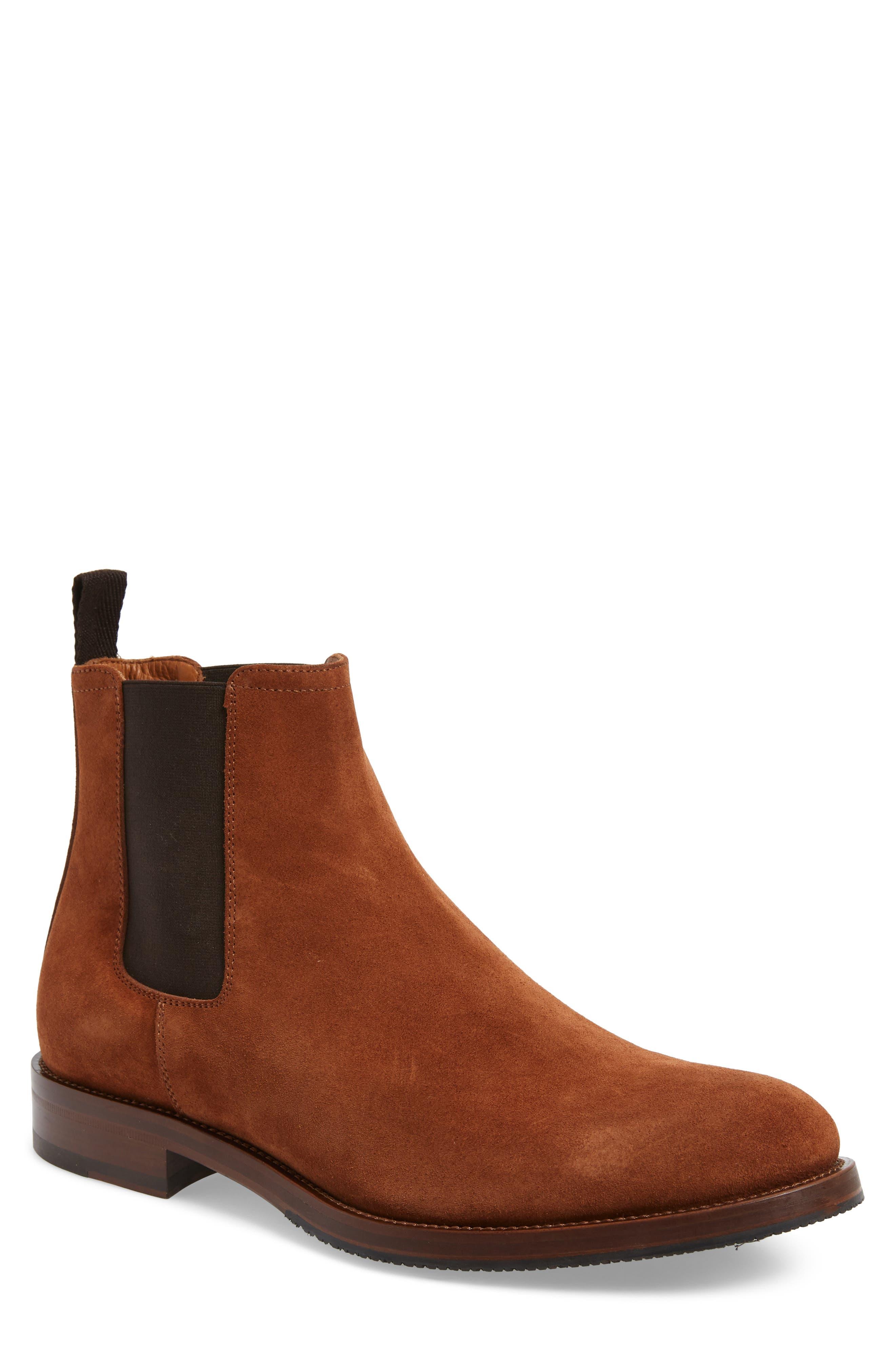 Aquatalia Giancarlo Weatherproof Chelsea Boot, Brown