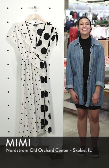 Mix Spot Midi Wrap Dress, sales video thumbnail