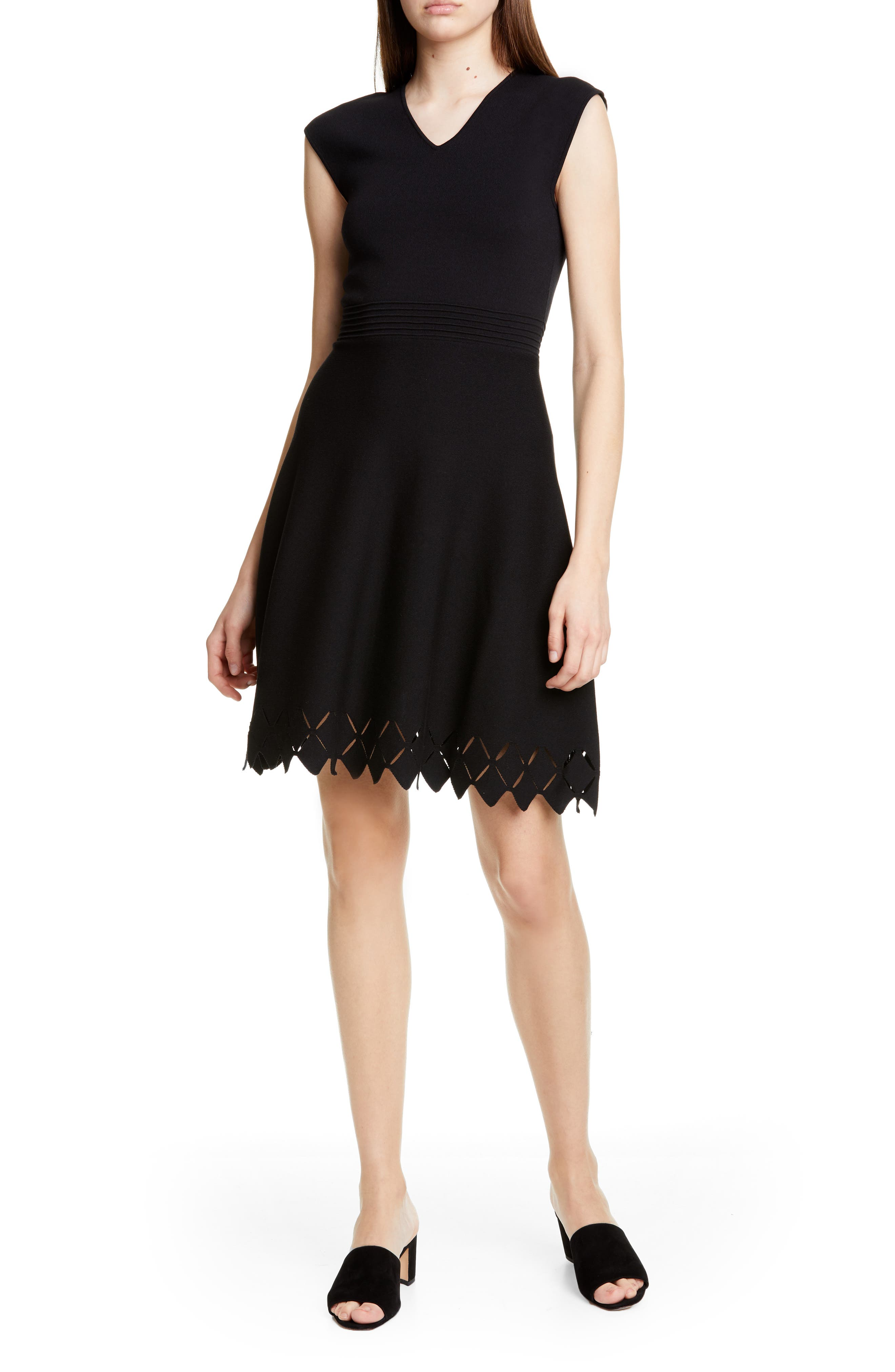 Ted Baker London Tannia Skater Dress, Black