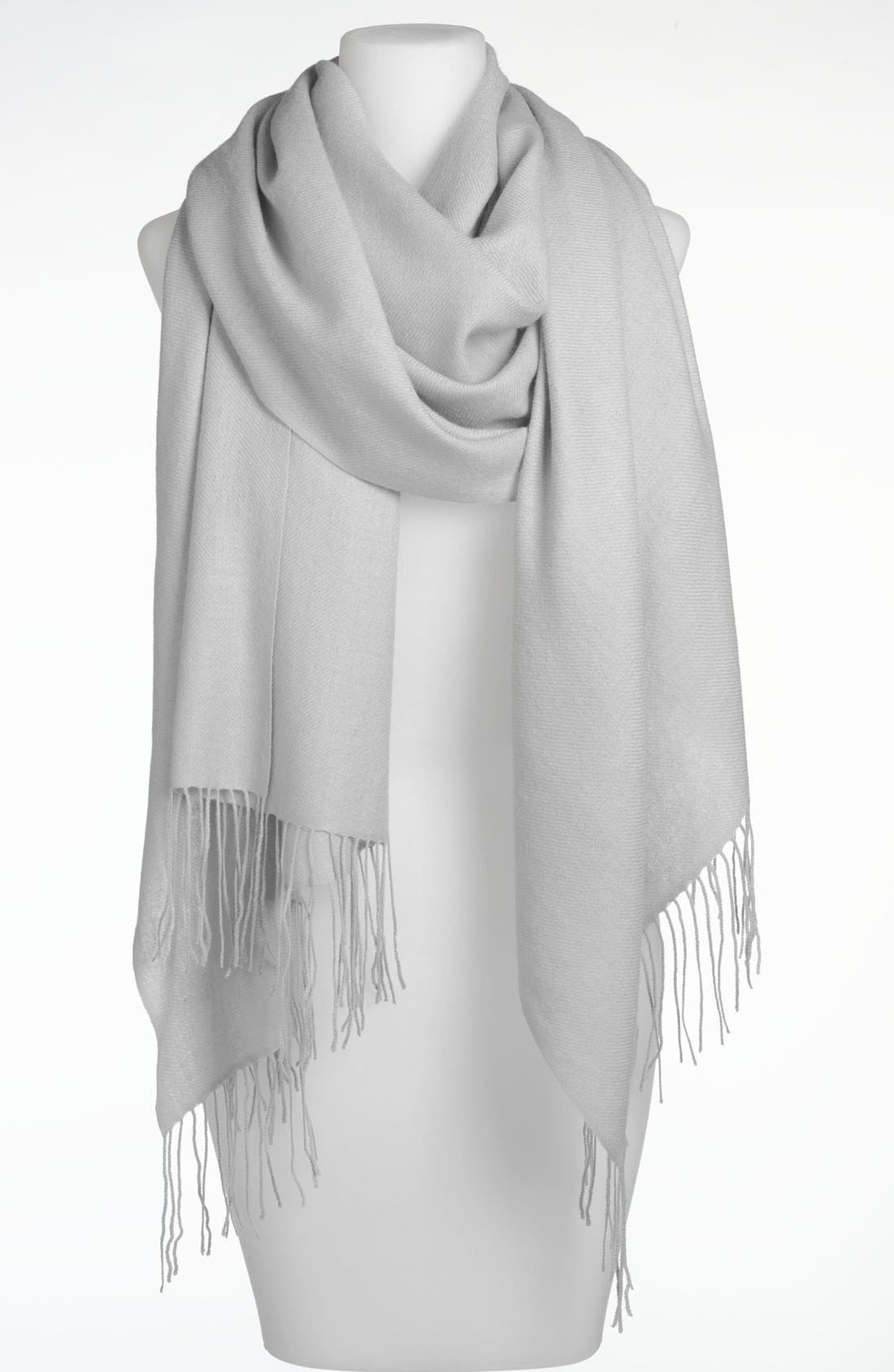 ,                             Tissue Weight Wool & Cashmere Wrap,                             Main thumbnail 15, color,                             067
