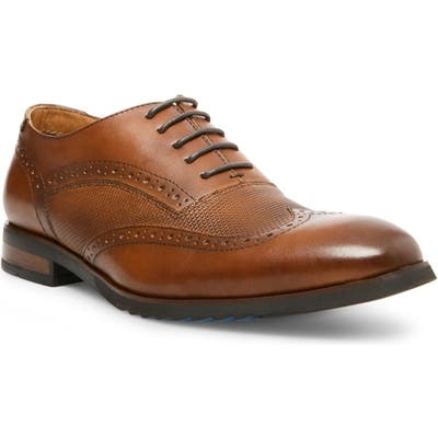 Steve Madden Langdon Wingtip, Brown