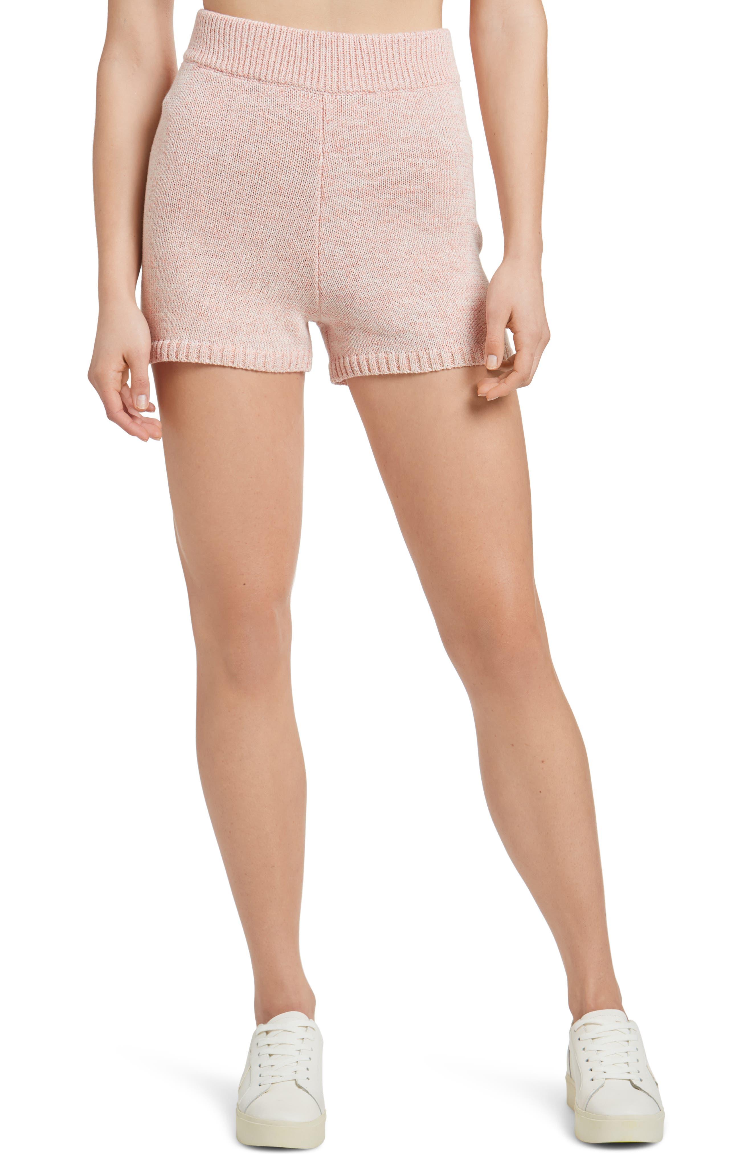 Sweater Knit Shorts