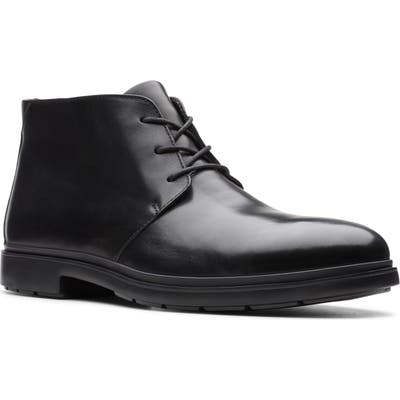 Clarks Un Tailor Chukka Boot, Black