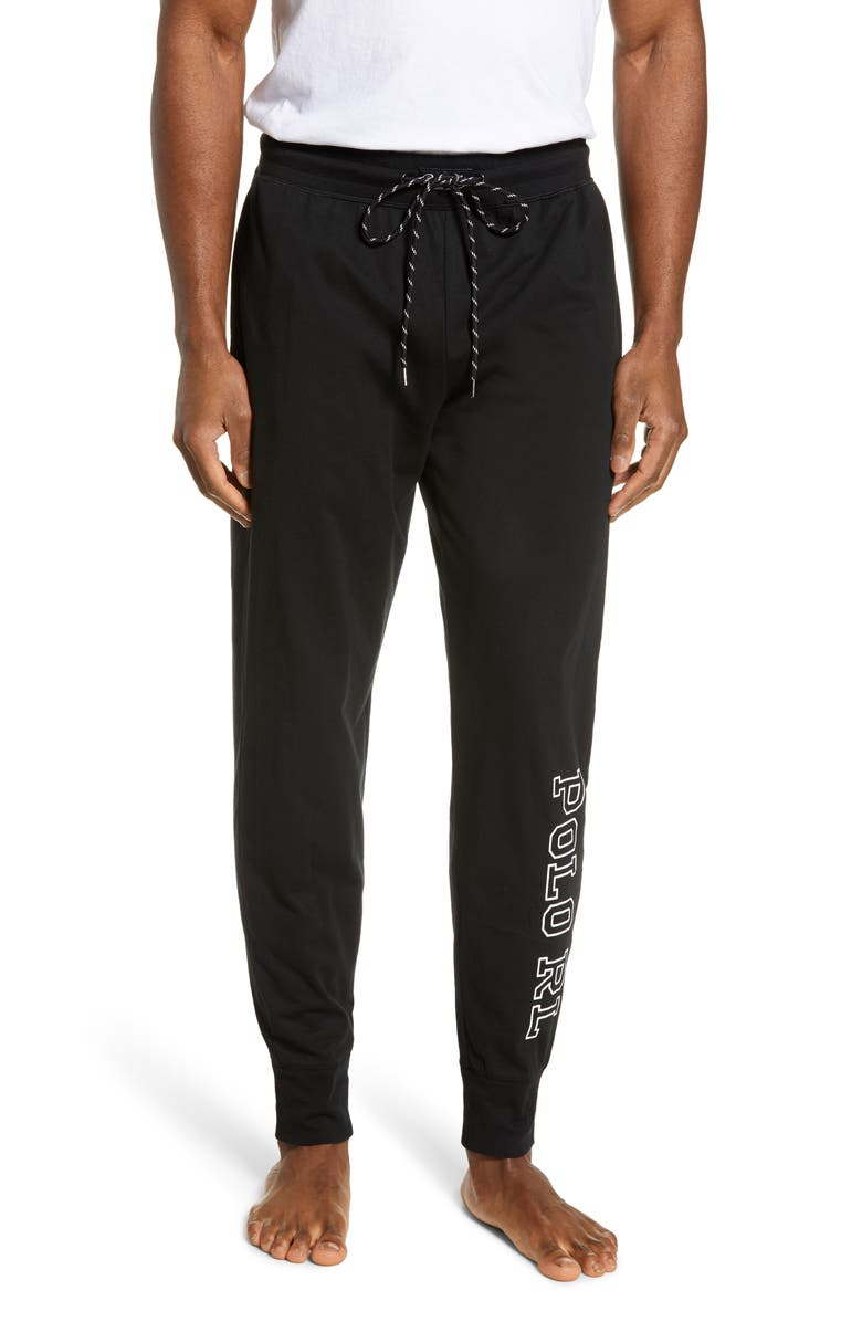 POLO RALPH LAUREN Logo Knit Jogger Pants, Main, color, 006