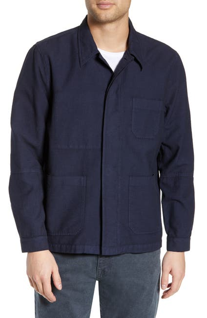 Image of BALDWIN Bowens Slim Fit Shirt Jacket