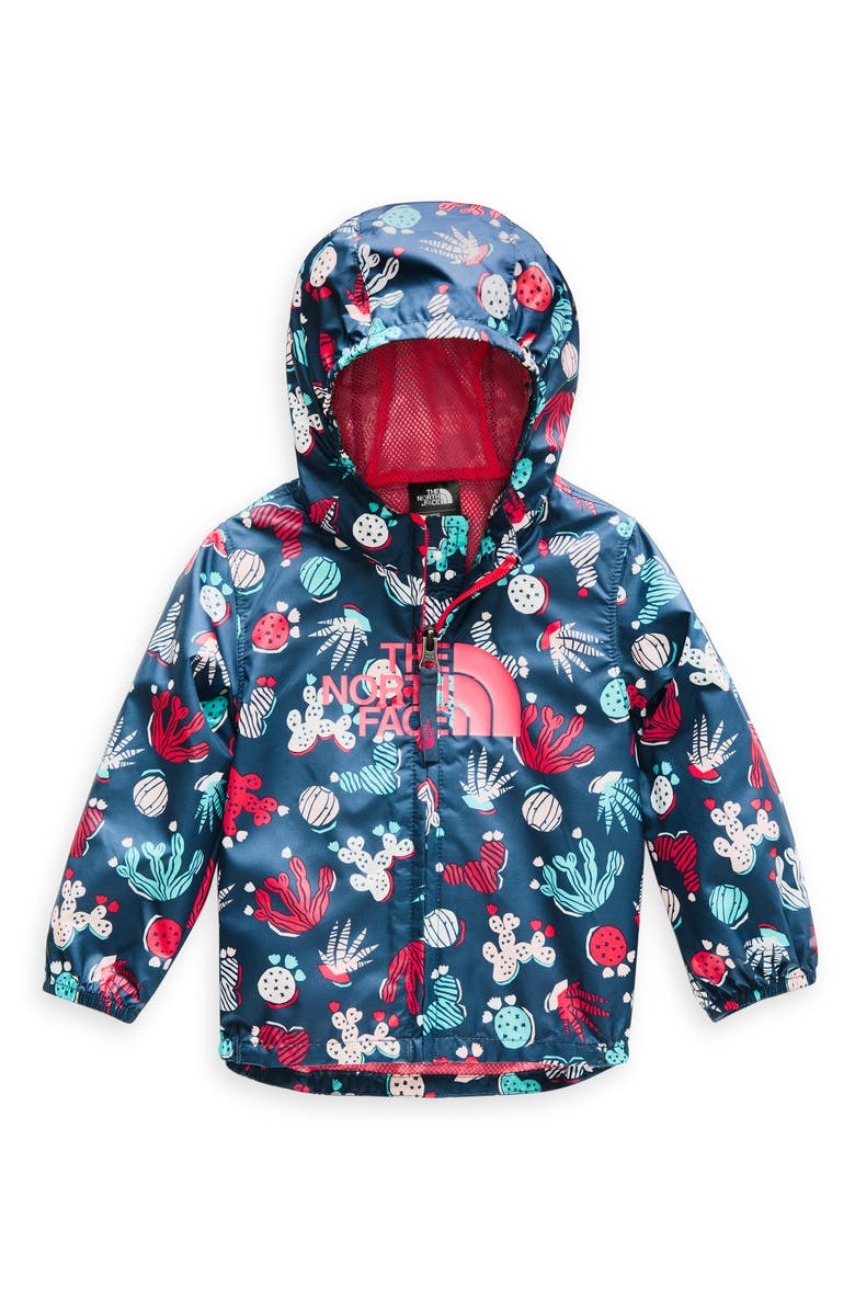 THE NORTH FACE Flurry Hooded Windbreaker, Main, color, 401