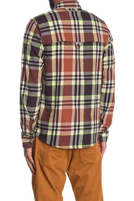 Image of Scotch & Soda Plaid Regular Fit Shirt
