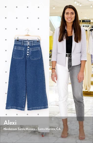 Colette Wide Leg Jeans, sales video thumbnail