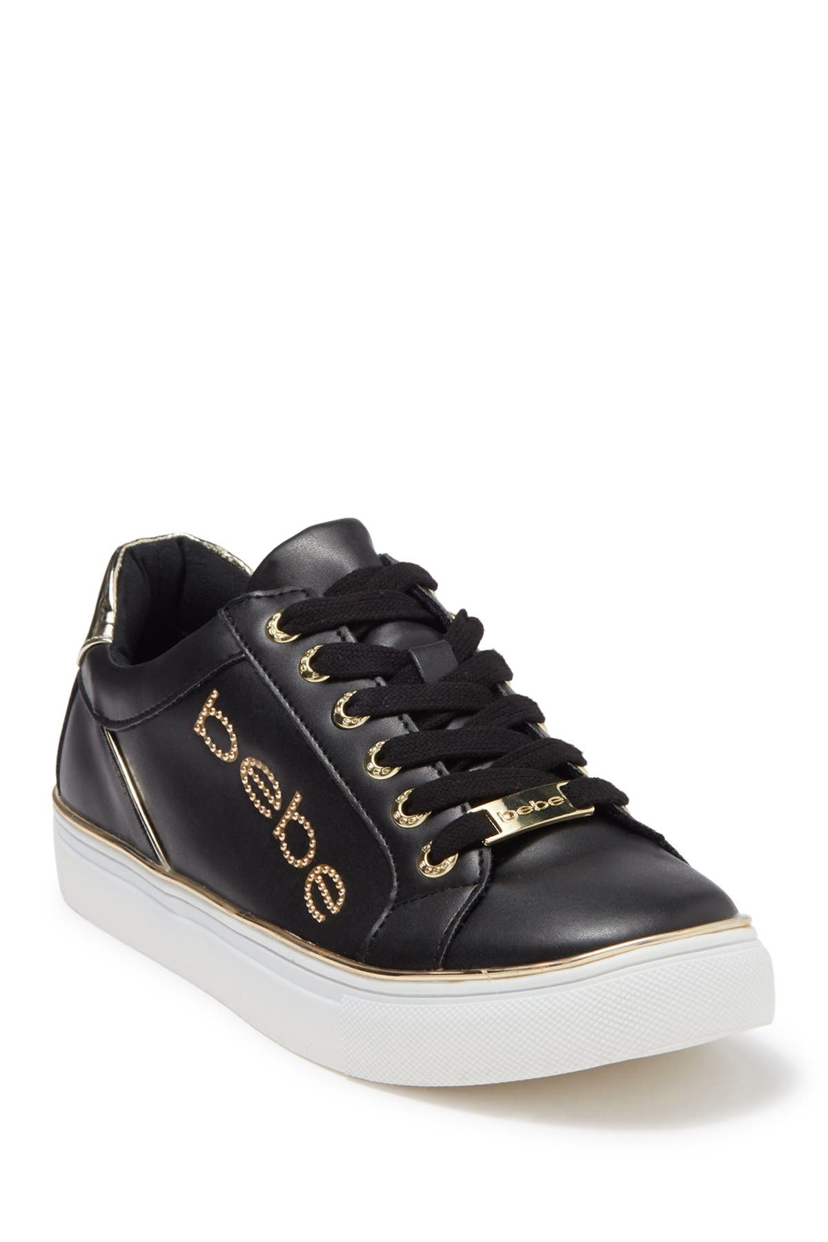 Image of bebe Celise Brand Logo Low Top Sneaker
