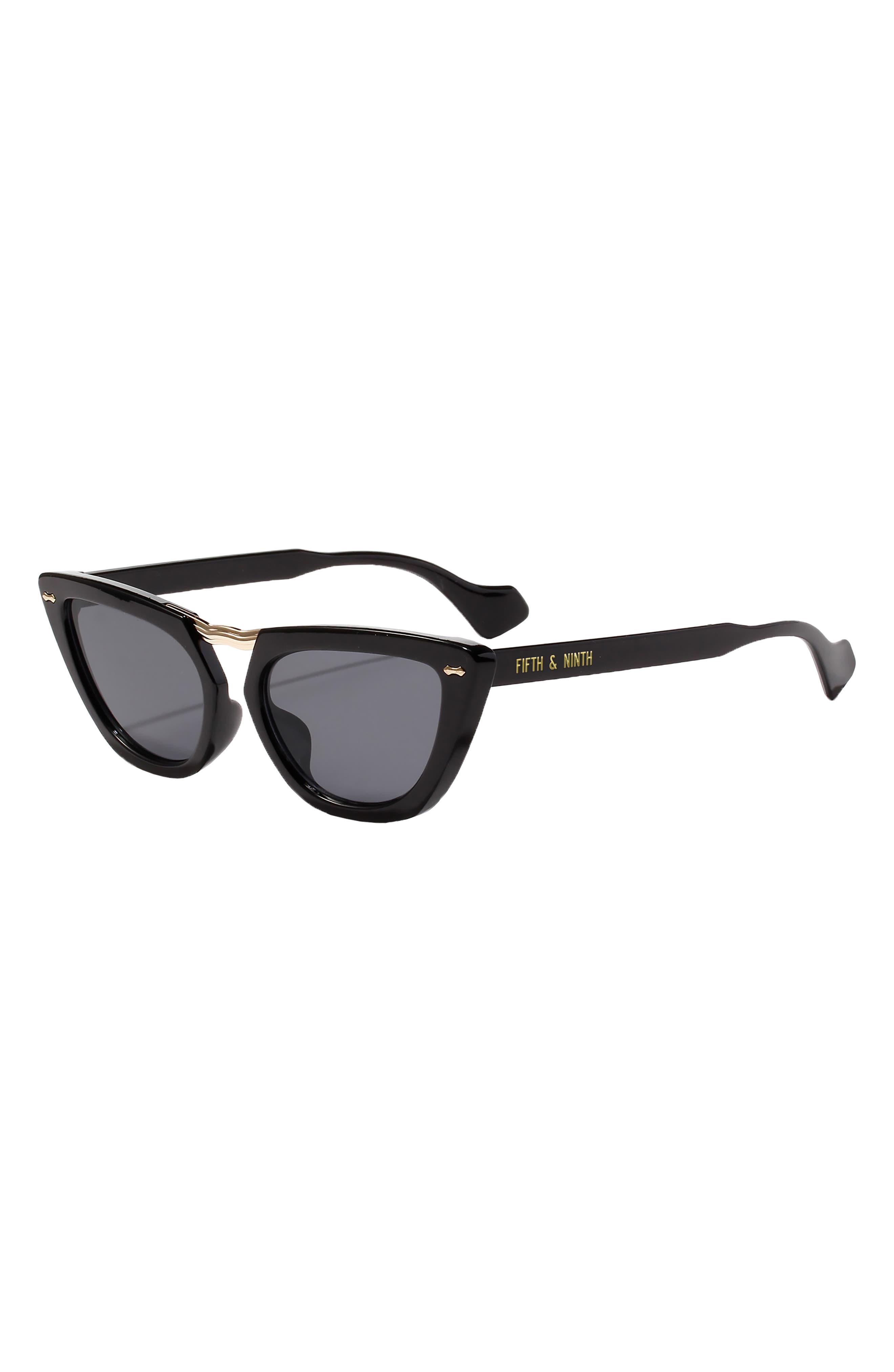 Savannah 55mm Cat Eye Sunglasses