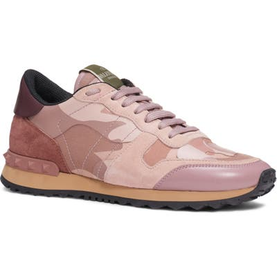 Valentino Garavani Rockrunner Sneaker, Beige