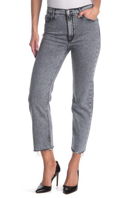 Image of Black Orchid Brooke Straight Crop Denim Jeans