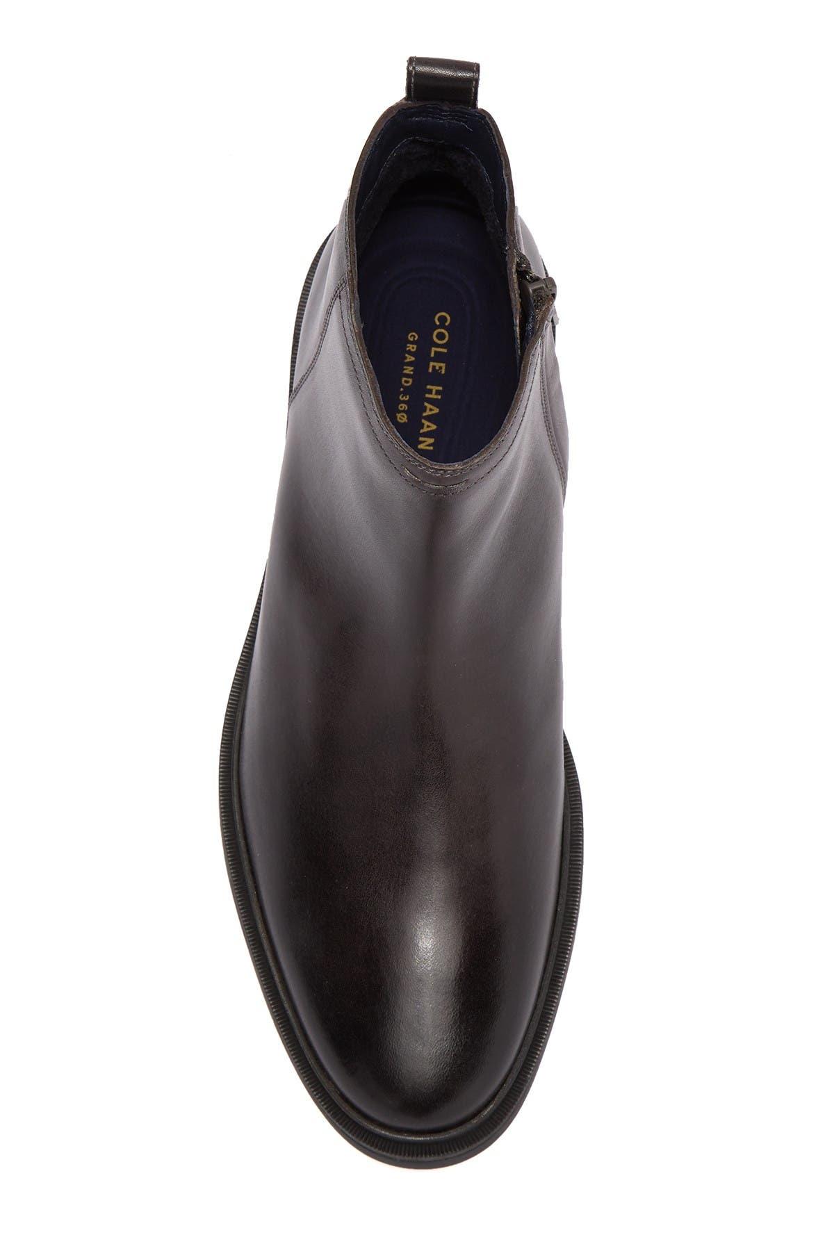 Cole Haan | Bernard Leather Zip Boot