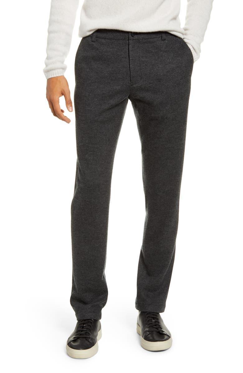 VINCE Slim Fit Wool Blend Knit Pants, Main, color, 060